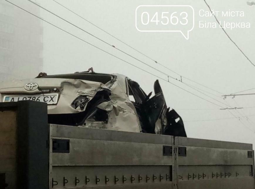 Смертельне ДТП біля тролейбусної зупинки Шевченка, фото-1