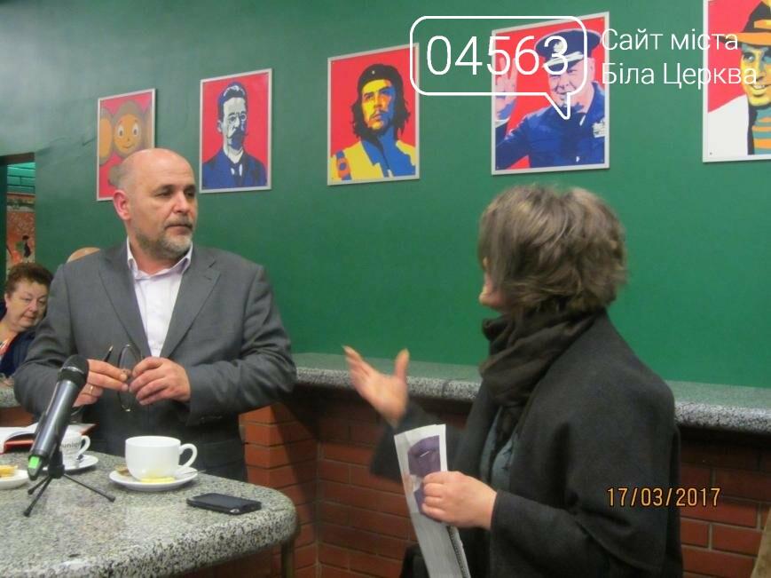 Геннадій Дикий пригощав присутніх кавою та чаєм в кафе «Піца Челентано», фото-5