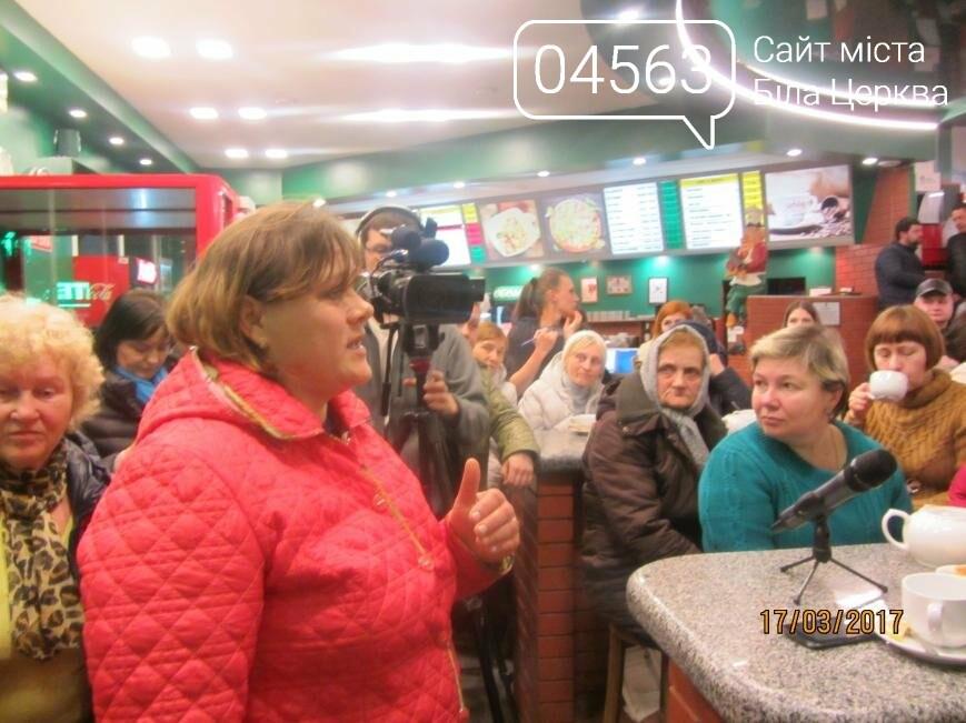 Геннадій Дикий пригощав присутніх кавою та чаєм в кафе «Піца Челентано», фото-4