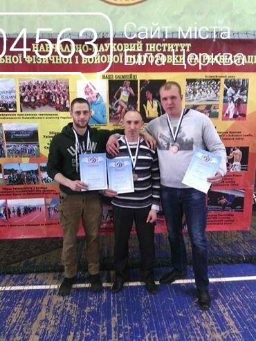 Поліцейські з Білої Церкви посіли призові місця на чемпіонаті з гирьового спорту , фото-1