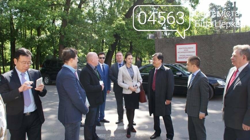 Авіаційний комплекс Білої Церкви відвідала делегація з Китаю