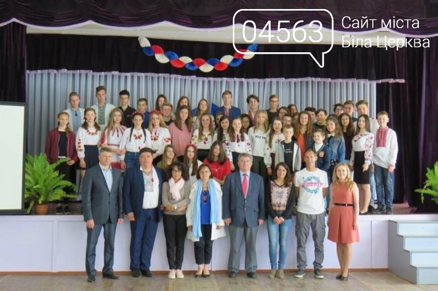 Делегація учнів та вчителів з Adrienne Bolland School, м. Бесьєр, Франція.