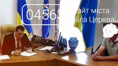 Колишній голова села на Білоцерківщині незаконно виділив 5 га землі