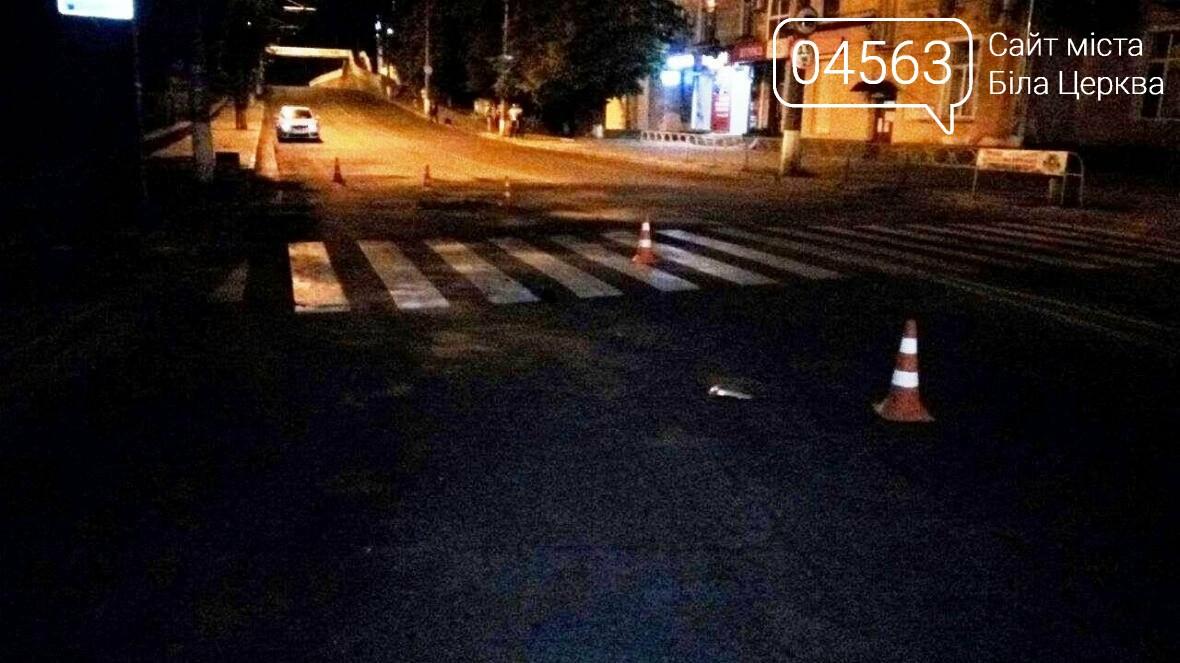 ДТП у Білій Церкві: водій іномарки на пішохідному переході наїхав на двох люд