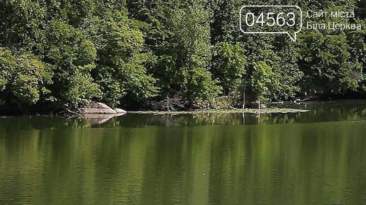 Рівень води у Білоцерківському водосховищі падає критично швидко