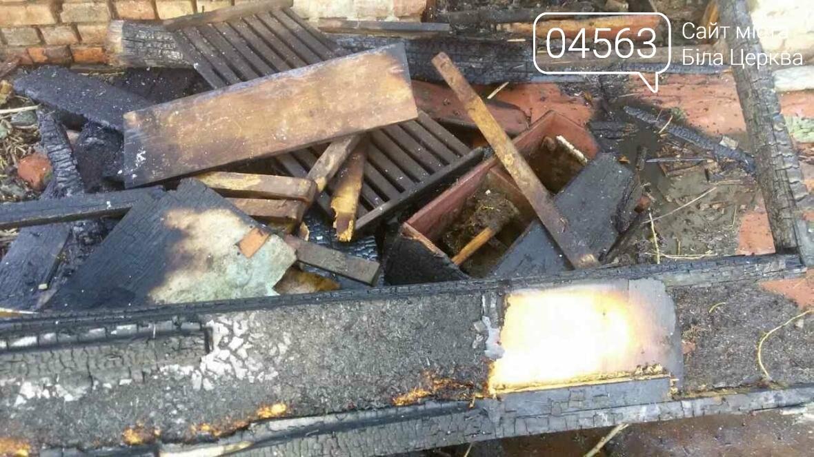 Дитячі пустощі з вогнем призвели до пожежі в Білій Церкві