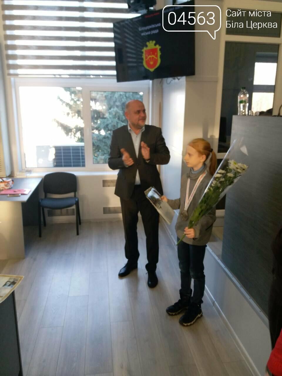 Міський голова відзначив нагородами білоцерківських спортсменів, які привезли медалі з Англії