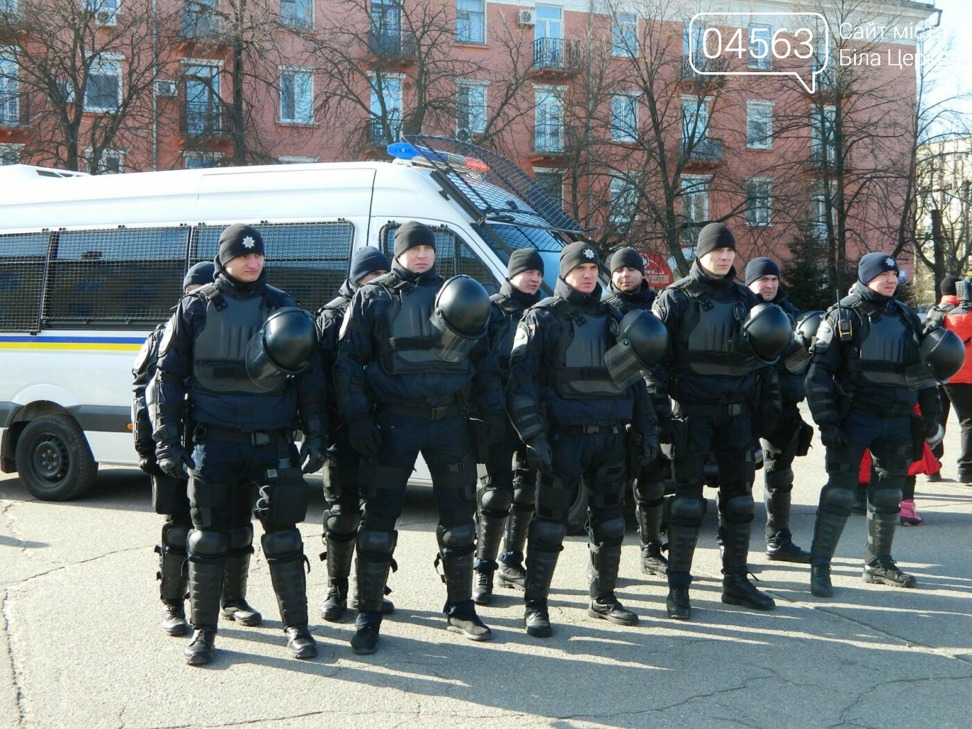 У Білій Церкві оголосили про початок набору до патрульної поліції міста
