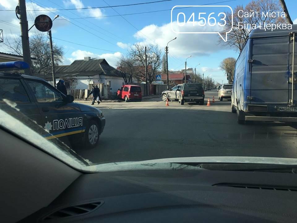ДТП у Білій Церкві: автомобіль протаранив паркан приватного будинку