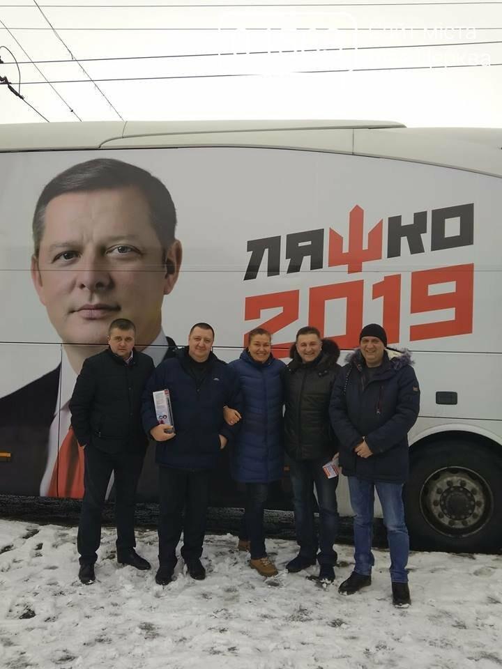 ''Ляшкобус'' у Білій Церкві: Лідер Радикальної партії ефектно провів передвиборчу кампанію, фото-14