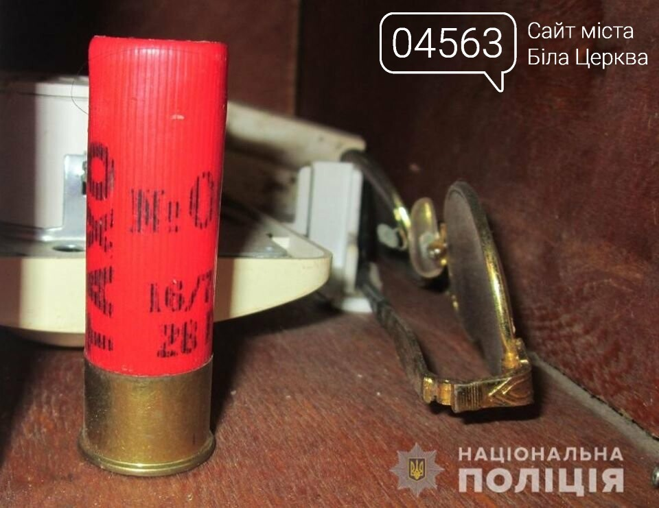Білоцерківські поліціянти затримала чоловіка за незаконне поводження зі зброєю, фото-2