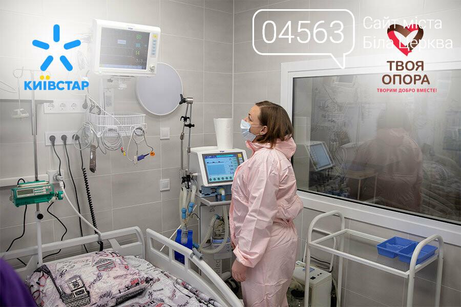 Білоцерківська міська лікарня №3 отримала 2 апарати ШВЛ та 4 монітори пацієнта, фото-1
