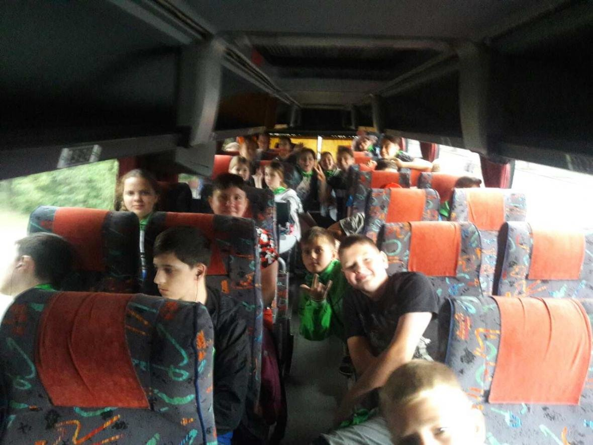 55 дітей з сімей учасників АТО вирушили на відпочинок до Чорного моря