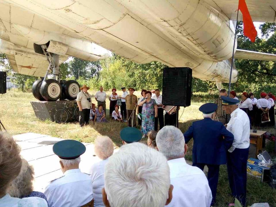 У Білій Церкві відбувся захід з нагоди святкування Дня авіації