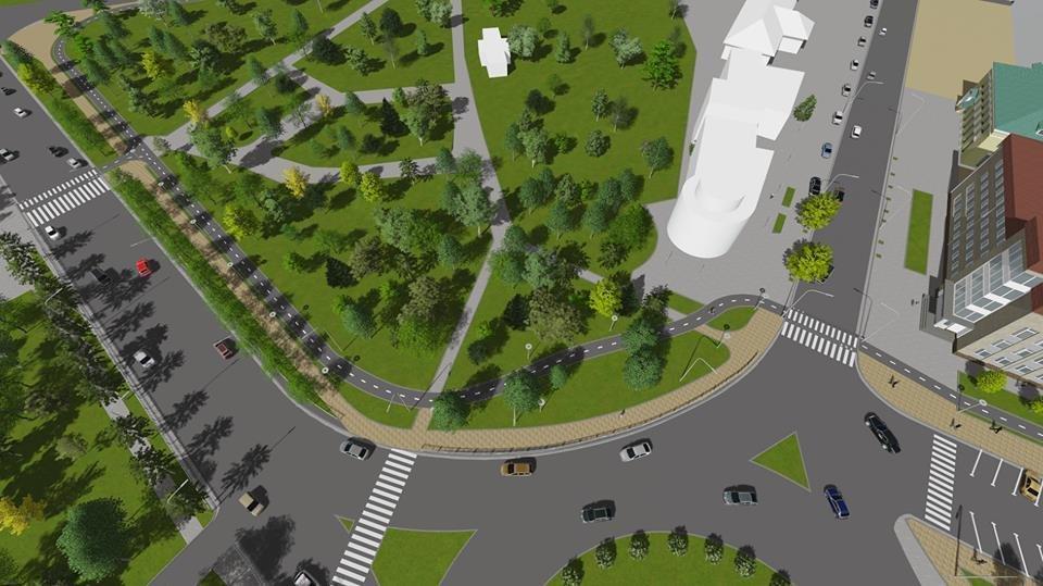 У Білій Церкві підтримали проект реконструкції Соборної площі