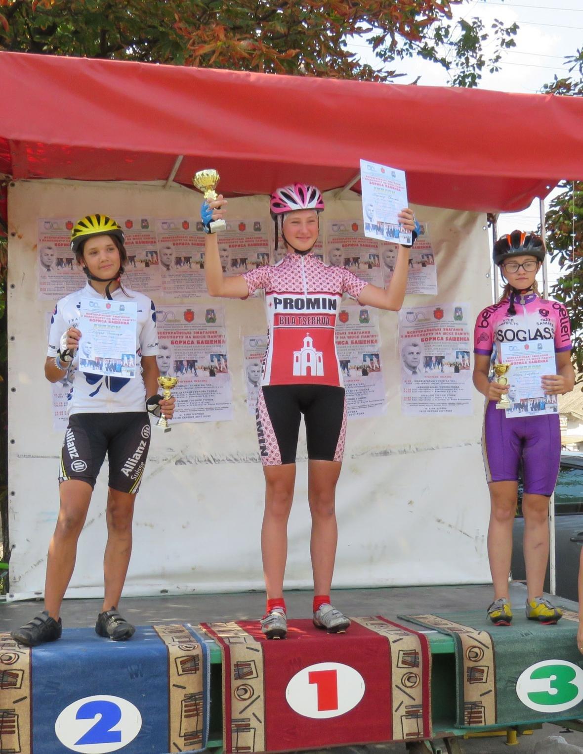 У Білій Церкві відбувся відкритий чемпіонат Київської області з велосипедного спорту