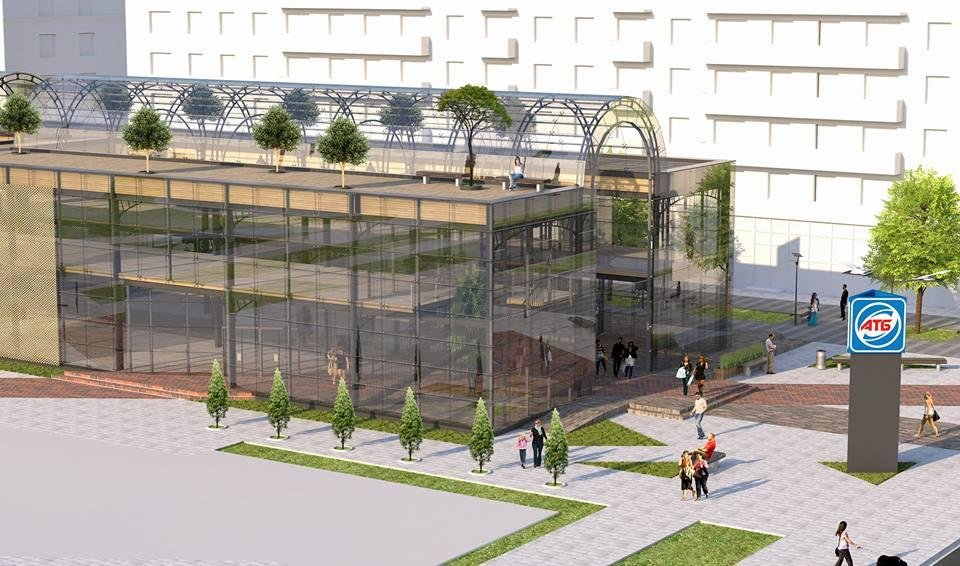 """На місці колишнього літного кінотеатру планують побудувати пасаж """"Crystal Palace"""""""