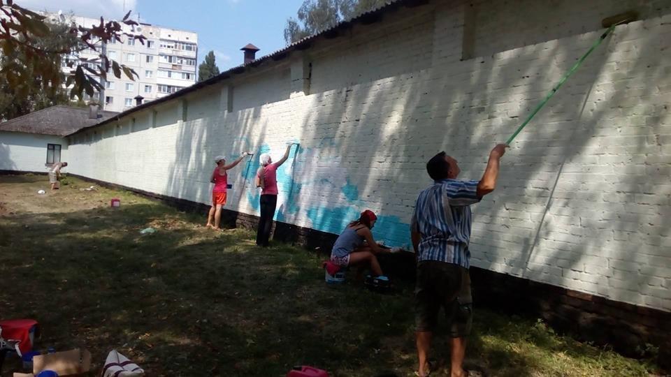 У Білій Церкві в Парку Слави з'явиться новий мурал присвячений вогнеборцям