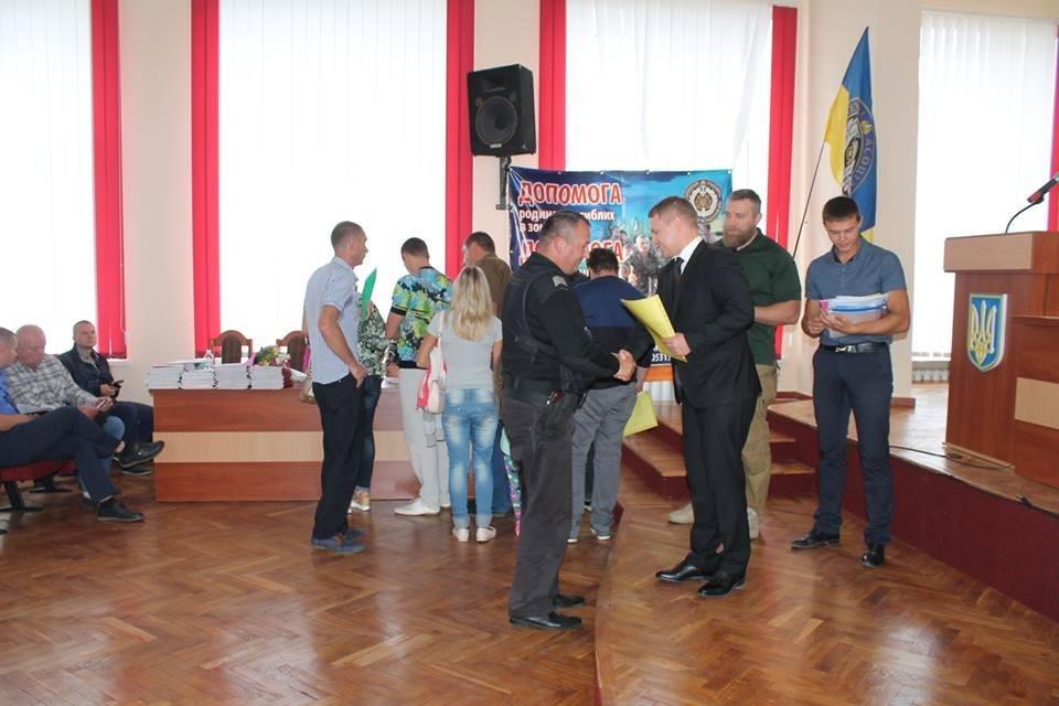 На Білоцерківщині ще 100 учасників АТО отримали земельні ділянки