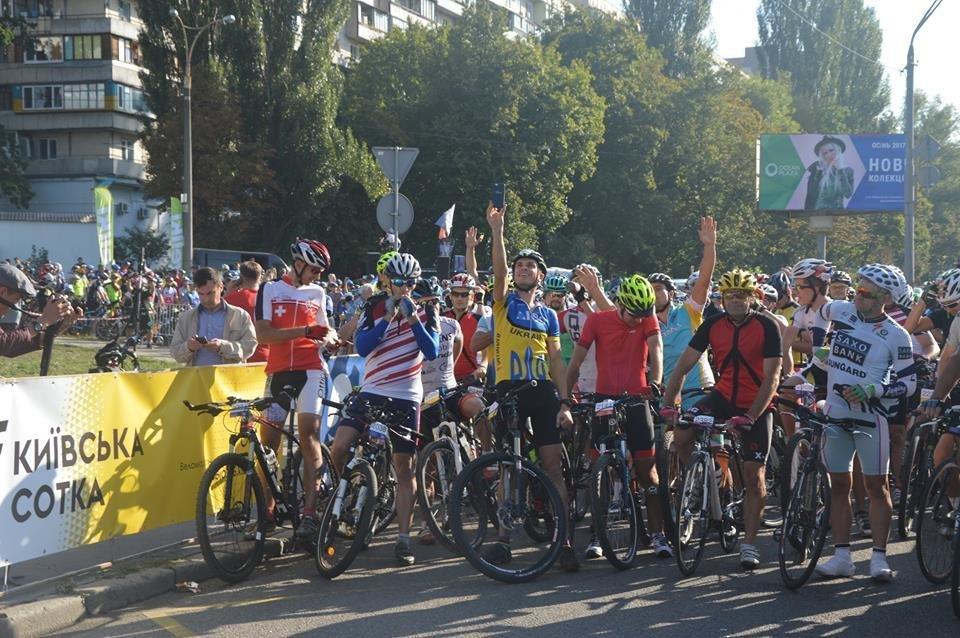 Білоцерківські велосипедисти отримали дві золоті медалі у велогонці «Київська сотка 2017»