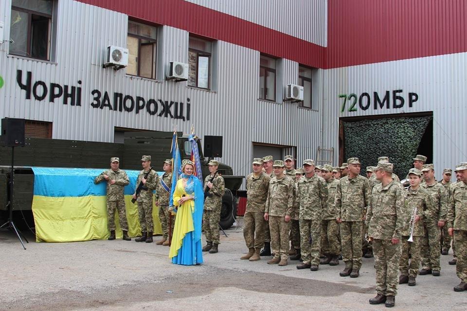 Бійці 72-ї бригади отримали заслужені нагороди