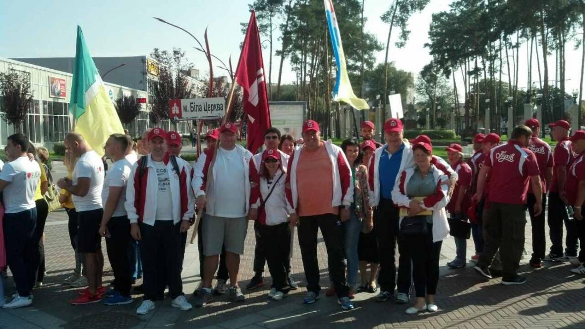Депутати Білоцерківської міської ради взяли участь у VІ обласній Спартакіаді