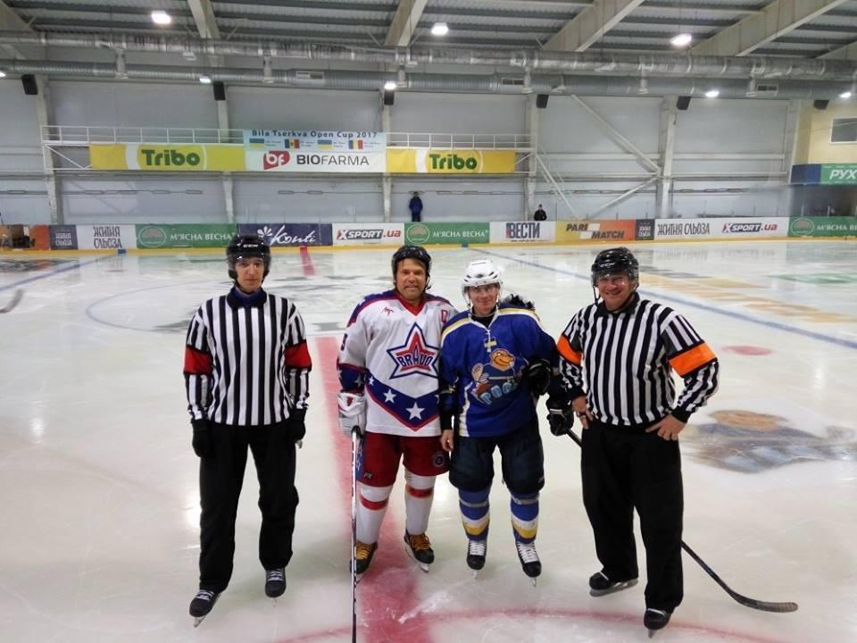 """У Білій Церкві відбувся II Міжнародний турнір з хокею """"Bila Tserkva Open Cup-2017"""""""