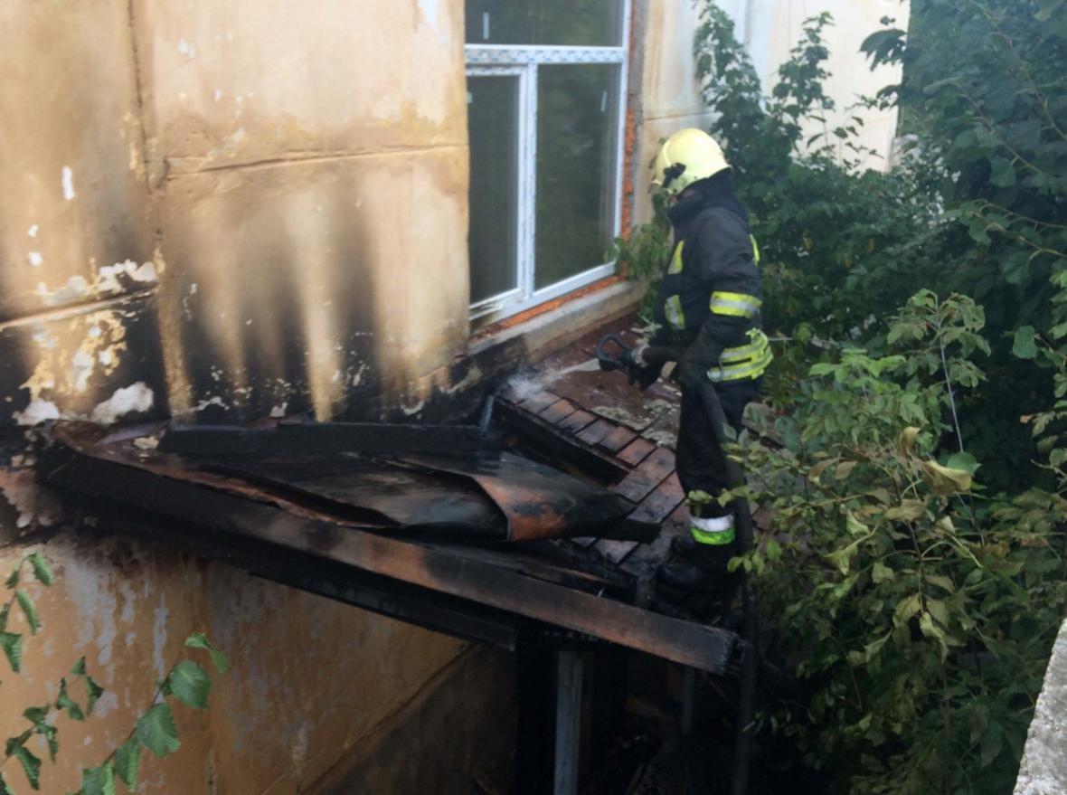 Пожежа в гуртожитку по вулиці Коновальця