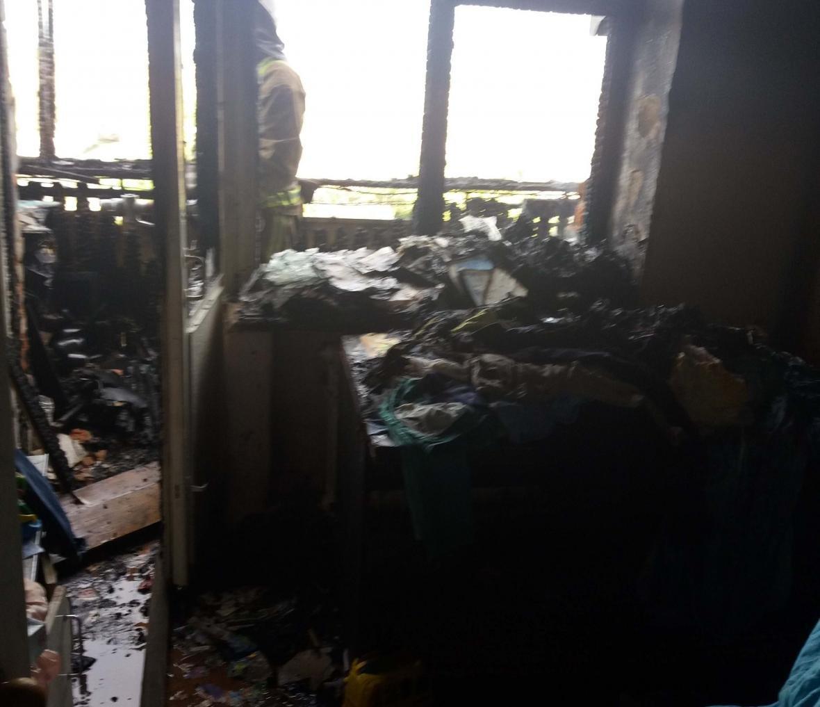 На Білоцерківщині двоє дітей підпалили квартиру