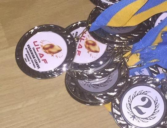 Білоцерківська команда отримала срібло в Чемпіонаті України з Американського футболу