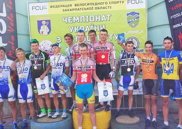 Білоцерківська команда виграла на Чемпіонаті України з багатоденної велогонки