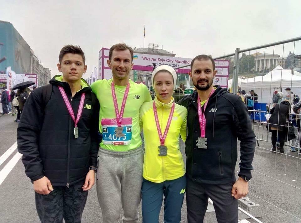Білоцерківець виборов срібло на VIII міжнародному Київському марафоні