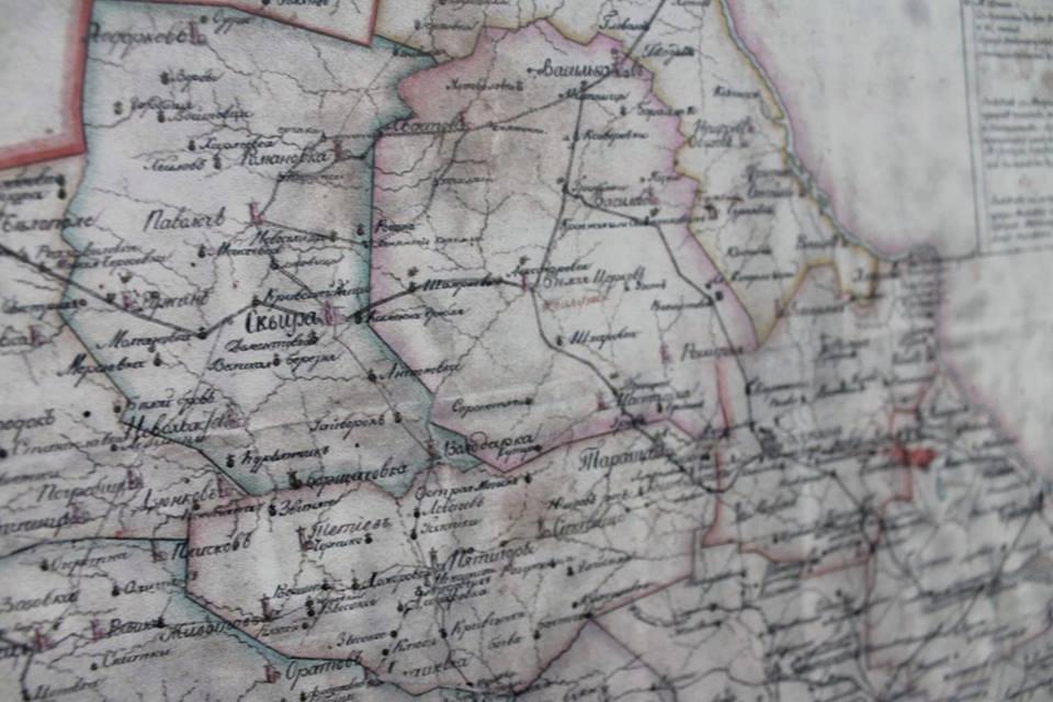 У Білій Церкві показали рідкісні старовинні мапи Київщини XVI-XIX століття