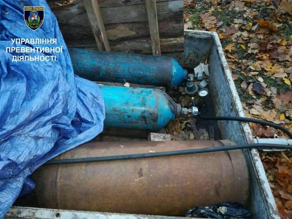 На Київщині за крадіжку залізничних колій затримано двох громадян