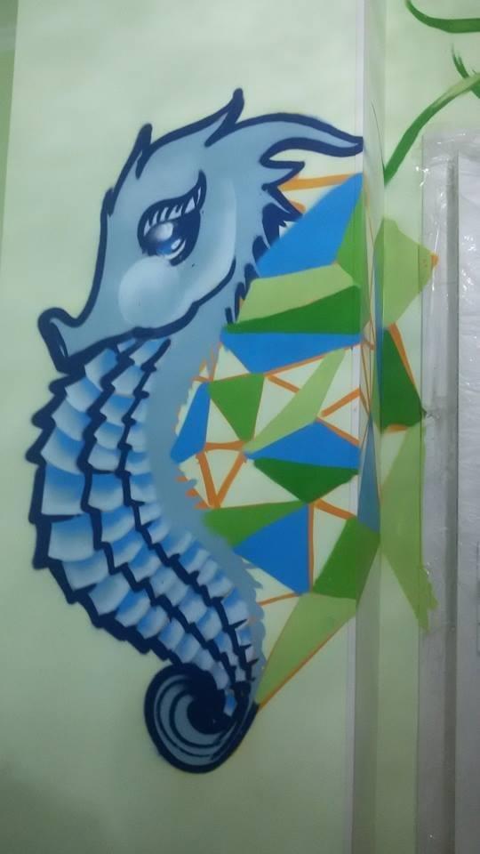 Дитячо-юнацький клуб «Юність» у Білій Церкві оформили молоді художники