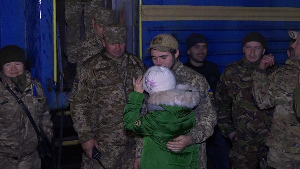 З зони АТО після року служби повернулися бійці 72 Окремої механізованої бригади ім. Чорних Запорожців