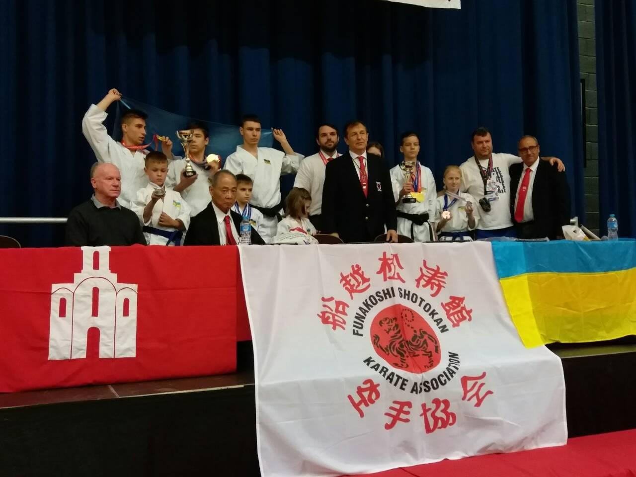 Білоцерківські каратисти здобули 19 медалей на Чемпіонаті світу у Лондоні