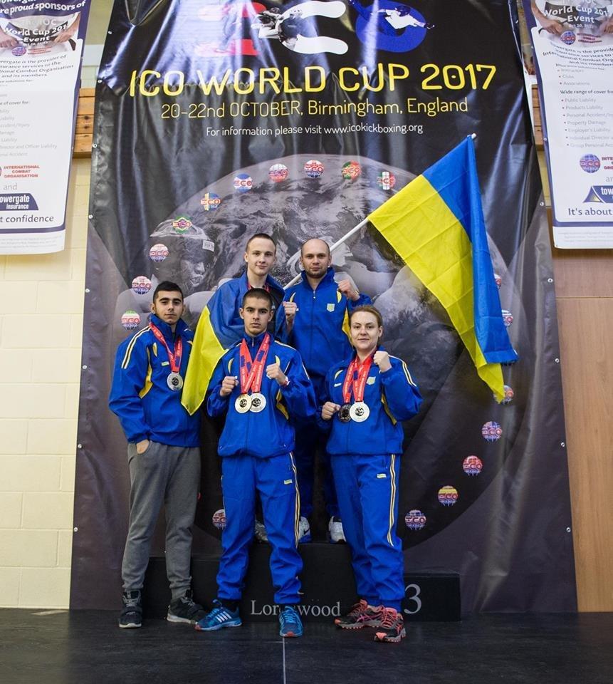 Білоцерківські спортсмени вибороли золото та срібло на Чемпіонаті Світу з бойових мистецтв
