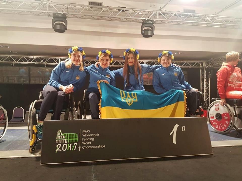 Білоцерківчанка виборола золоту медаль чемпіонату світу з фехтування на візках