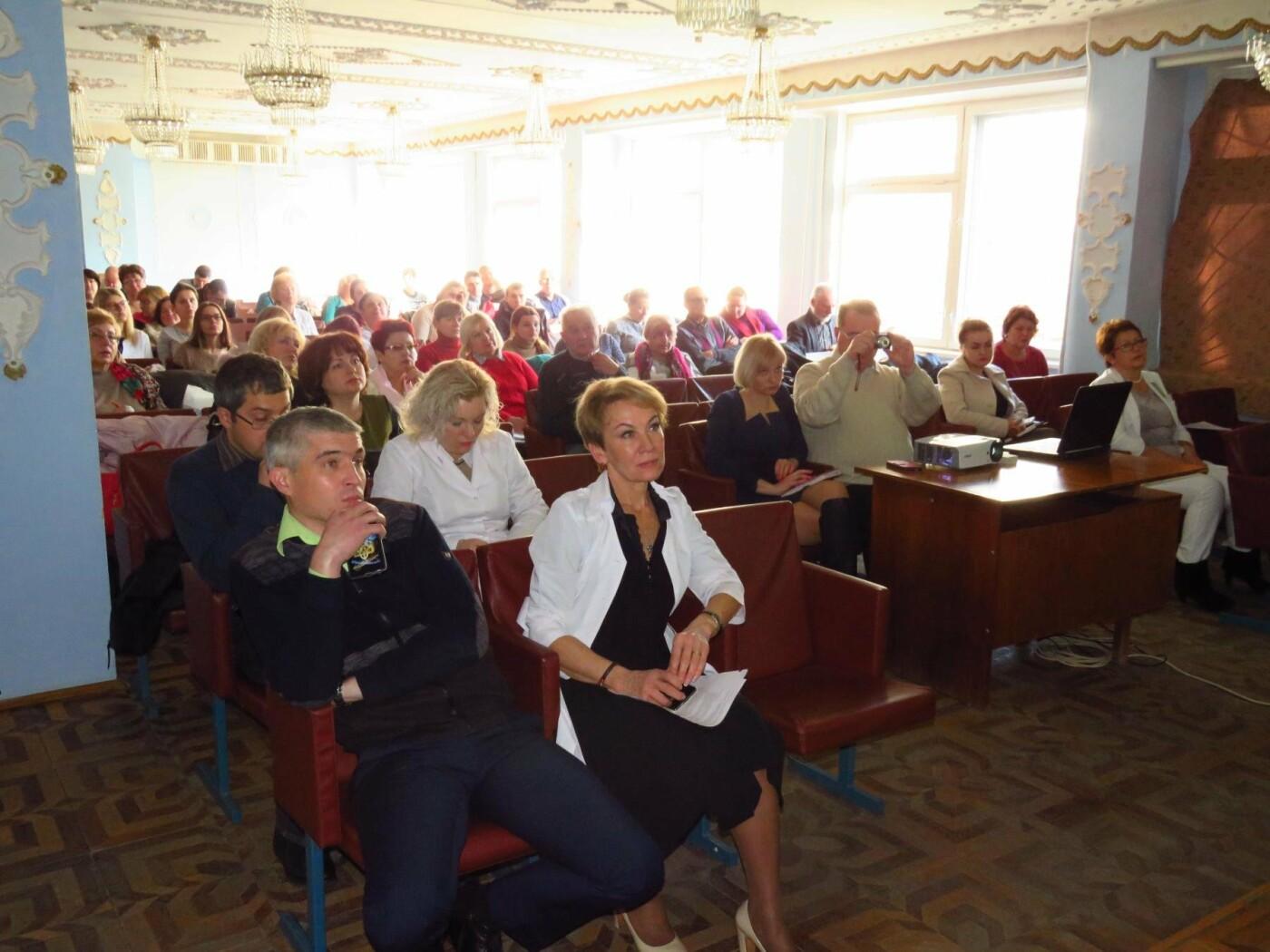 Конференція у приміщенні Білоцерківської лікарні №2