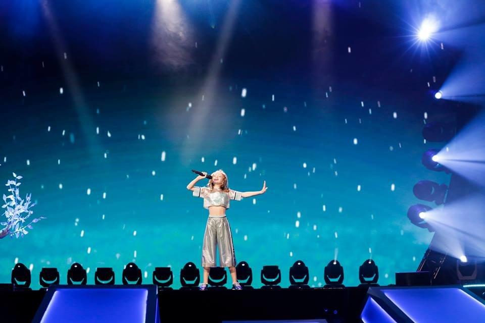 Анастасія Багінська з Білої Церкви увійшла в 10-ку кращих на Дитячому Євробаченні – 2017