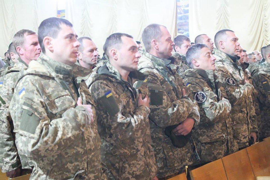 У Білій Церкві привітали бійців з Днем збройних сил України