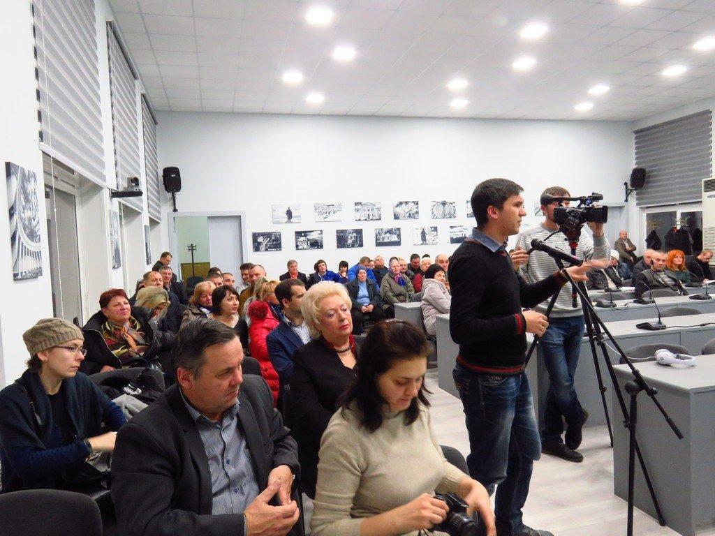 Міський голова Білої Церкви представив громаді свій звіт
