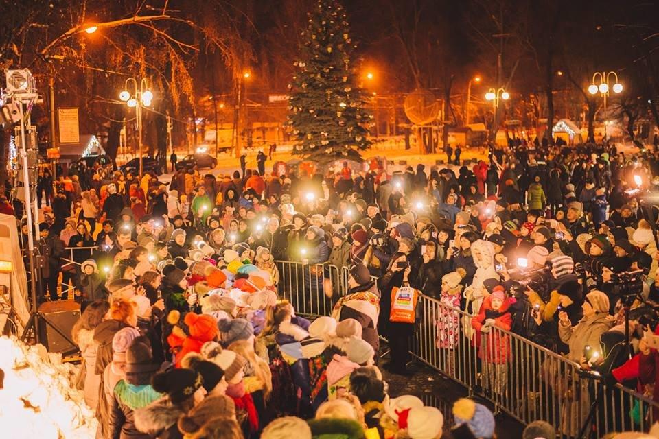 У Білій Церкві засяяла головна новорічна ялинка, фото-6