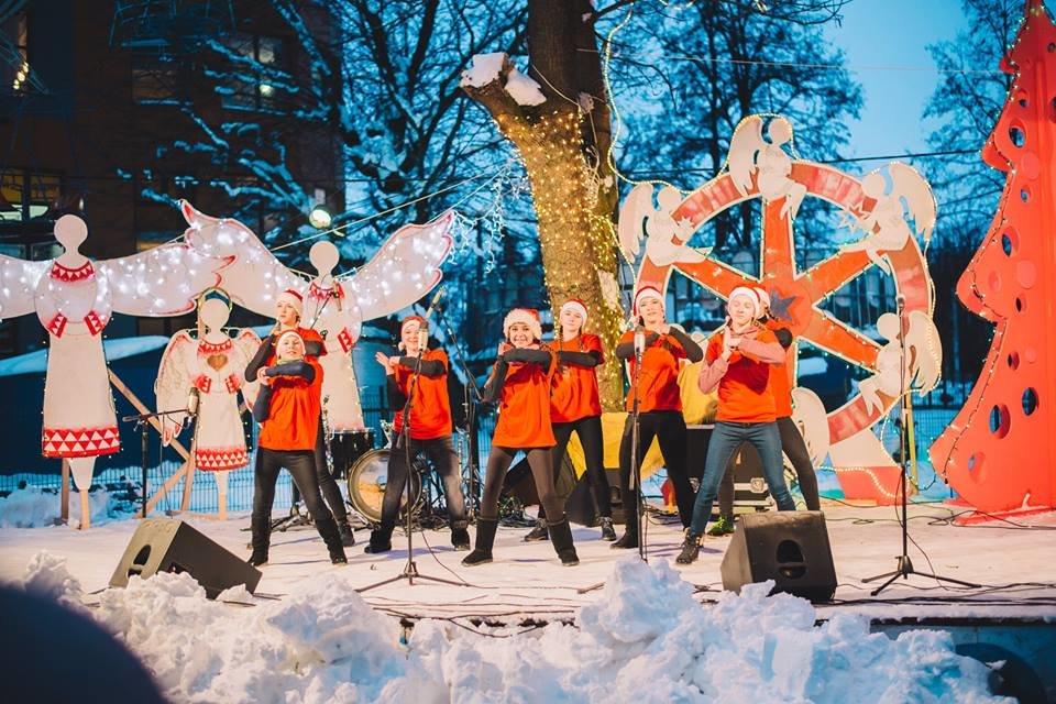 У Білій Церкві засяяла головна новорічна ялинка, фото-5