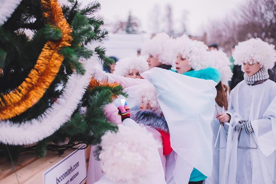 У Білій Церкві засяяла головна новорічна ялинка, фото-7