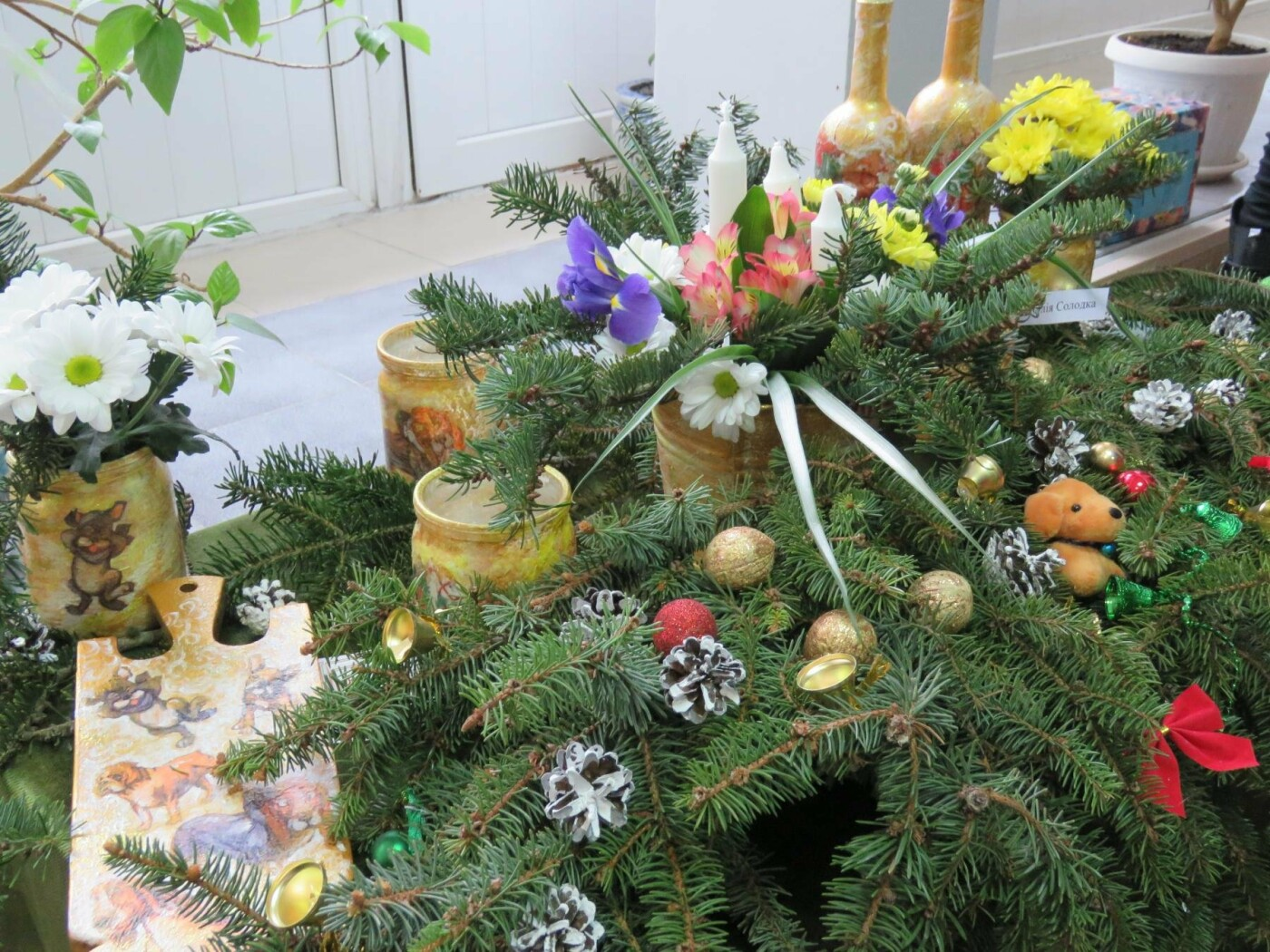 У Білій Церкві відкрилась виставка «Різдвяний вернісаж»