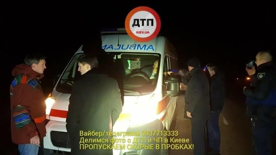 П'яний суддя з Білої Церкви намагався втекти з місця аварії