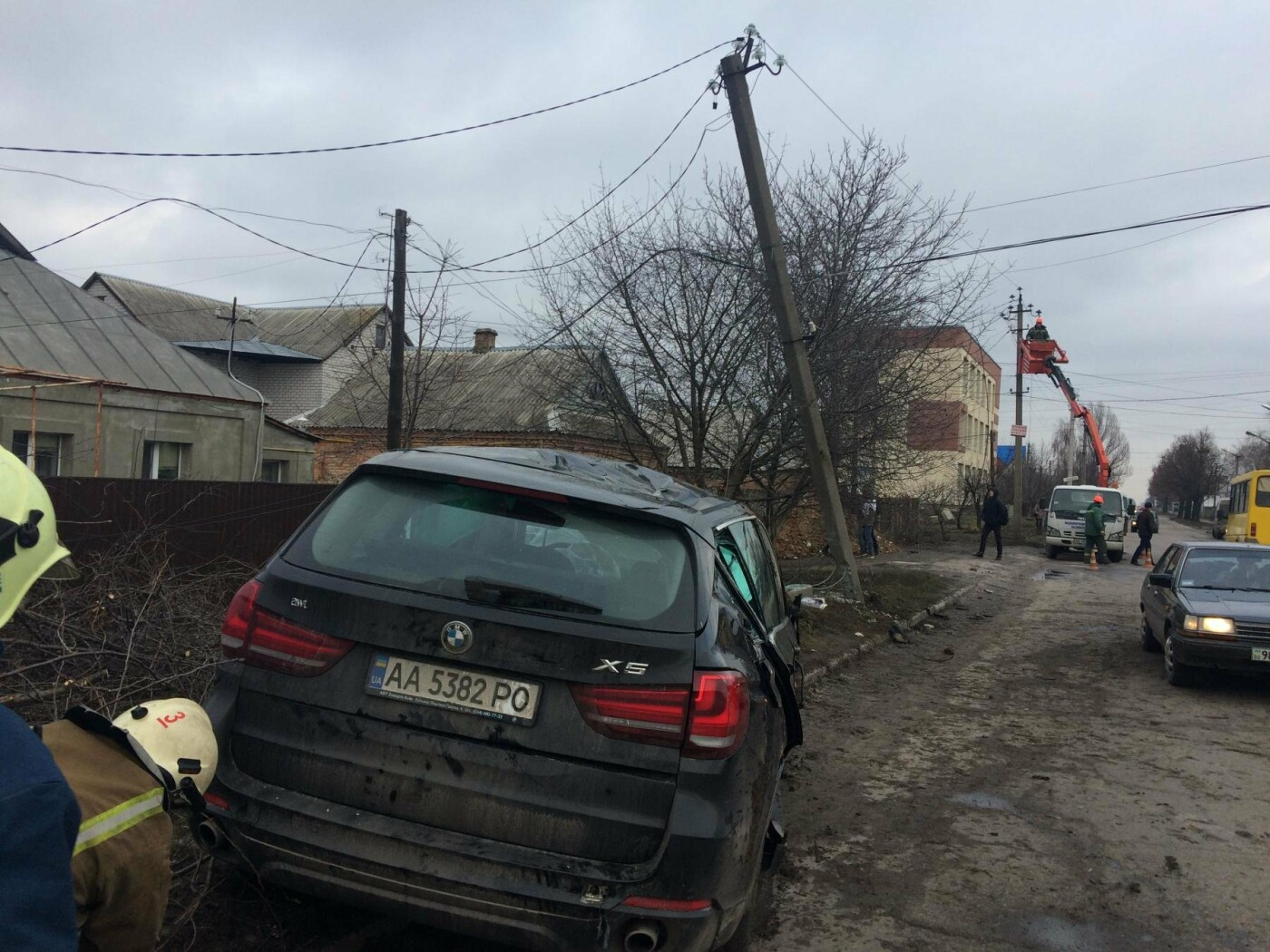 ДТП у Білій Церкві по вул. Льва Толстого