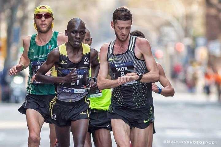 Білоцерківець Ігор Олефіренко став п'ятим на престижному марафоні у Китаї